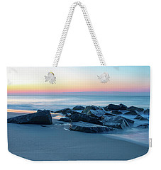Quiet Beach Haven Morning Weekender Tote Bag