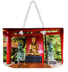 Quiet Contemplation On Wisdom Weekender Tote Bag