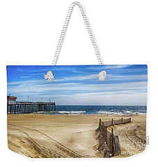 Quiet Day On The Beach Weekender Tote Bag