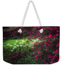 Quiet Garden - Evening's Edge Weekender Tote Bag