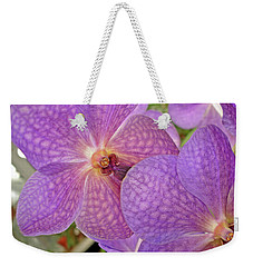 Weekender Tote Bag featuring the photograph Quiet Grace 2 by Lynda Lehmann