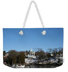 Quiet Harbor Weekender Tote Bag