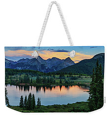 Weekender Tote Bag featuring the photograph Quiet In The San Juans by Rick Furmanek