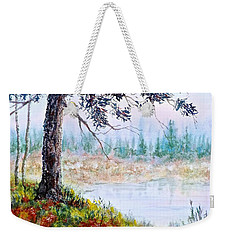 Quiet Inlet Weekender Tote Bag