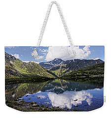 Weekender Tote Bag featuring the photograph Quiet Life by Annie Snel