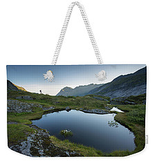 Quiet Lofoten Weekender Tote Bag by Alex Conu