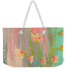 Quiet Marshmallow Time Weekender Tote Bag