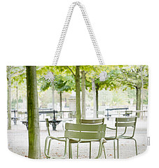 Quiet Moment At Jardin Luxembourg Weekender Tote Bag