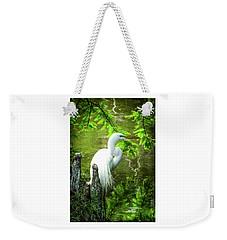 Quiet Moments Of Elegance Weekender Tote Bag by Karen Wiles