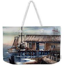 Quiet Pacific Dockside Weekender Tote Bag