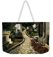 Pere Lachais Cemetery Road Weekender Tote Bag