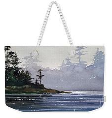 Quiet Shore Weekender Tote Bag