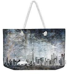 Quiet Sky Weekender Tote Bag
