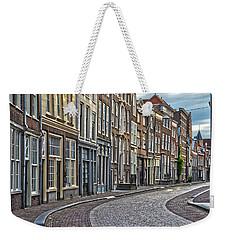 Quiet Street In Dordrecht Weekender Tote Bag