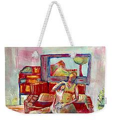 Quiet Time Weekender Tote Bag