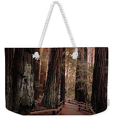 Quiet Walk Weekender Tote Bag