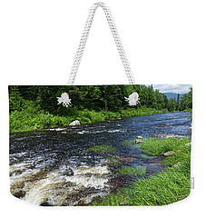 Quill Pond Brook Near Rangeley Maine  -70748 Weekender Tote Bag