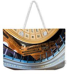 Quincy Market Vintage Signs Weekender Tote Bag