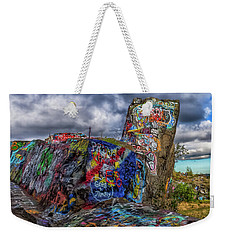 Quincy Quarries Graffiti Weekender Tote Bag