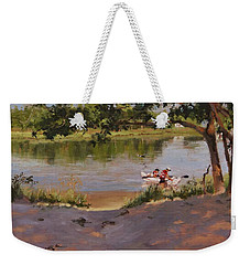Quincy's Hidden Gem Weekender Tote Bag