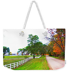 Quintessence Of Autumn Weekender Tote Bag