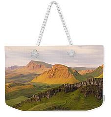 Quiraing Panorama Weekender Tote Bag