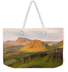 Quiraing Panorama Weekender Tote Bag