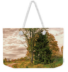 Weekender Tote Bag featuring the photograph Quixotic Travels by John M Bailey