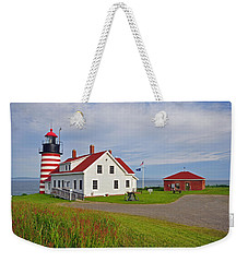 Quoddy Head Lighthouse Weekender Tote Bag