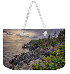 Weekender Tote Bag featuring the photograph Quoddy Head State Park by Rick Berk