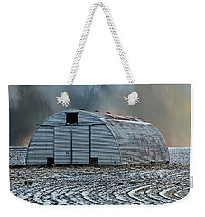Quonset Hut Weekender Tote Bag