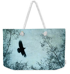 Spread Your Wings Weekender Tote Bag by Priska Wettstein