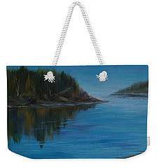 Rabbit Blanket Lake Weekender Tote Bag