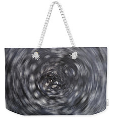 Weekender Tote Bag featuring the painting Rabbit Hole by Tom Roderick