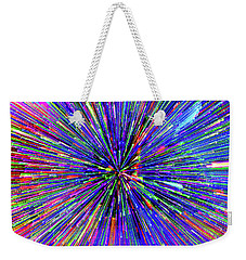 Weekender Tote Bag featuring the photograph Rabbit Hole by Tony Beck