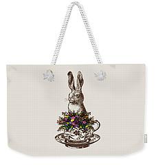 Rabbit In A Teacup Weekender Tote Bag