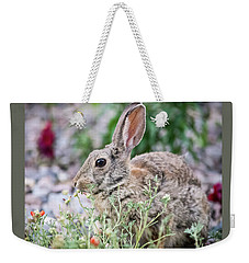 Rabbit Munching Lunch Weekender Tote Bag