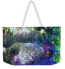 Rabbit Reflection Weekender Tote Bag