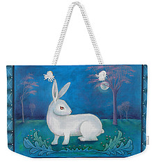 Rabbit Secrets Weekender Tote Bag