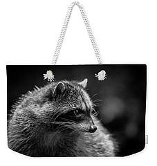 Raccoon 3 Weekender Tote Bag