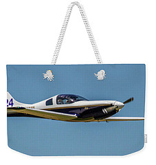 Race 24 Fly By Weekender Tote Bag