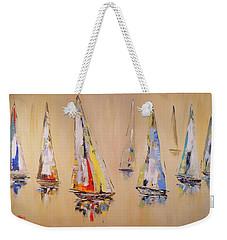 Race To Mackinac Weekender Tote Bag