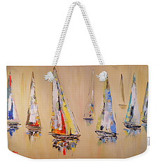 Race To Mackinaw Weekender Tote Bag