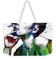 Rachel Mcadams Weekender Tote Bag by Mihaela Pater