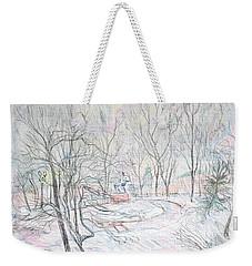 Rachmaninoff And Snow Weekender Tote Bag
