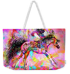 Racing For Time Weekender Tote Bag by Kari Nanstad