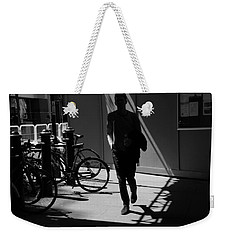Racing Stripes Weekender Tote Bag
