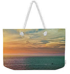 Racing The Sunrise Weekender Tote Bag