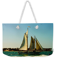 Racing The Wind Weekender Tote Bag