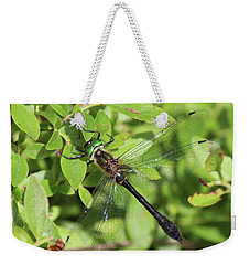 Racket-tailed Emerald  Weekender Tote Bag
